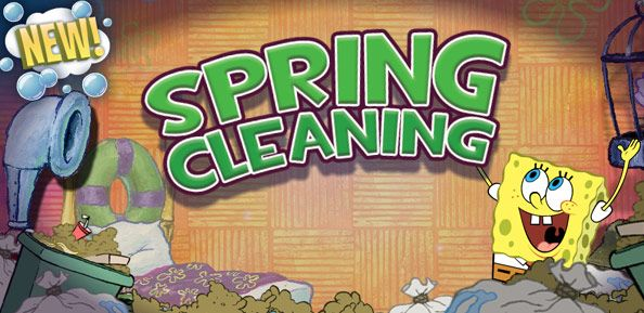 SpongeBob SquarePants Spring Cleaning