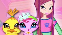Winx Club Games : Dress Me Up Too Game