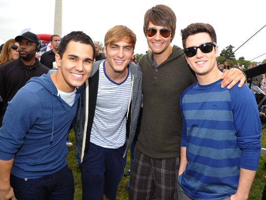 Ready to Rock|Big Time Rush is ready for their big day of play performance. Are YOU?