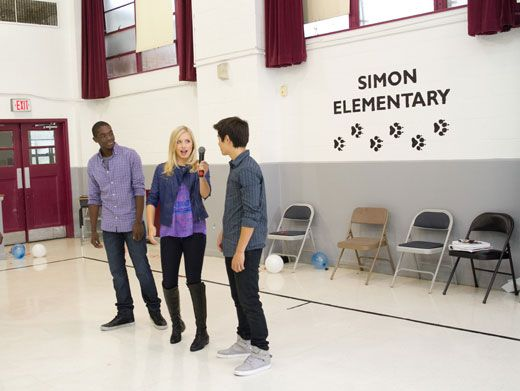 Pass The Mic|Are the Supah Ninjas planning an epic speech or they gearing up for a karaoke duel?