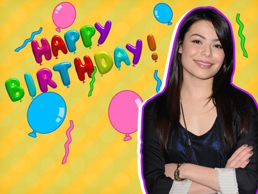 Happy Birthday Miranda Cosgrove 1