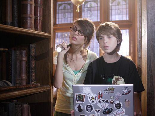 Behind The Bookcase|Jordan and Chase pull a fake book in the library and discover a secret room!
