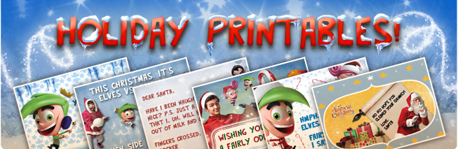 FOP Christmas Printables
