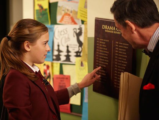 Good Eye|Poppy is one smart cookie - she was quick to note her father's name on the Drama Club Winners Board. But does Mr. Sweet know more than what he's letting on?