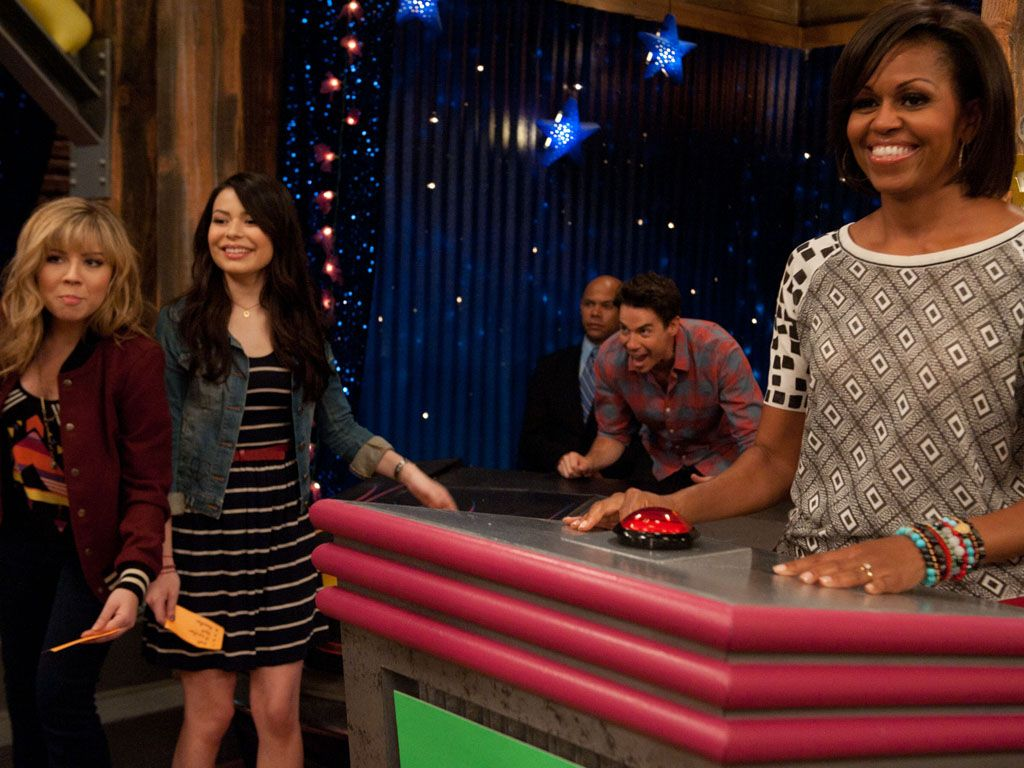 In the Game|What do Sam Puckett, a buzzer, and the First Lady have in common? They're all part of the coolest iCarly segment of all time!