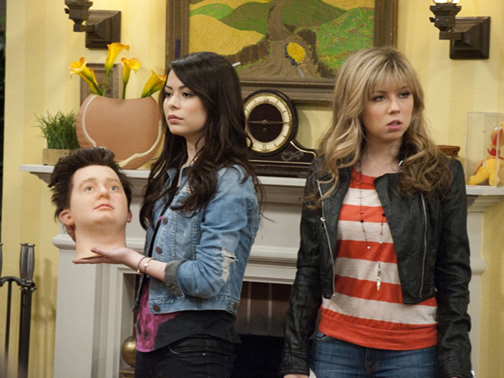 Heads Up!|Someone better warn the cast of iCarly. 'Cause this party is headed in the wrong direction...