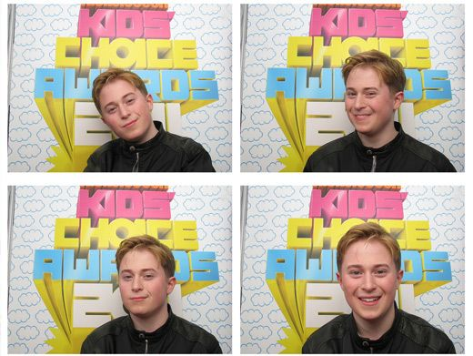Reed Between the Lines|Reed Alexander most famously known as Nevel Papperman on iCarly. But this papper's a pepper in the photo booth!