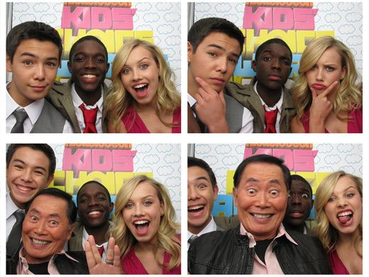 Karate Comedy|These Supah Ninjas look supah silly in these KCA photo booth pics.