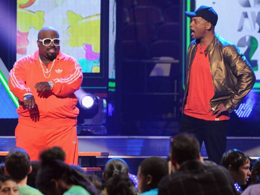 KCA 2012: Cee Is For Creepy|Will Smith finally unmasks the man behind the Creepy Hater Voice. It's Cee Lo Green!