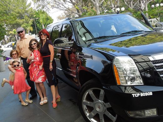 Sweet Ride|We sent Madison and her family to the show in a ride fit for a true diva!