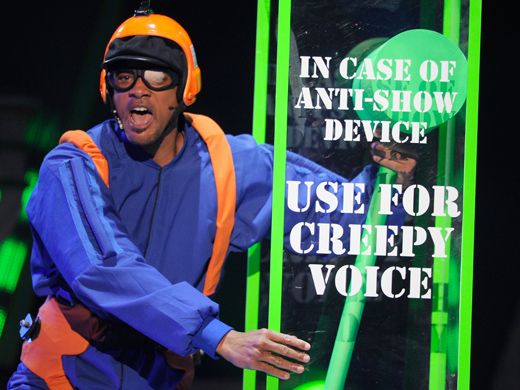 KCA 2012: Creepy Voice Alert|Thank goodness for the Creepy Voice. Wait, who IS the Creepy Voice anywho?!