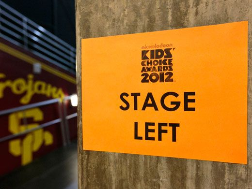 Show Time!|We wonder if the stars get jitter-bugs when they see this sign before going on stage. We're both nervous and excited just looking at it.