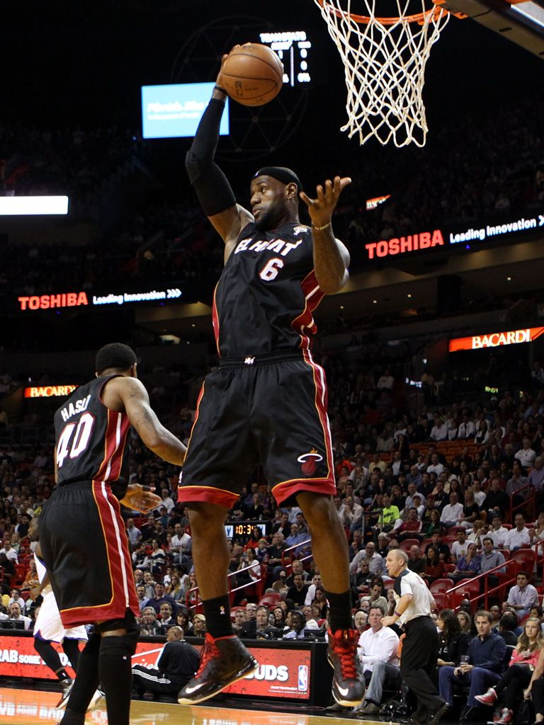 Slam Dunk|None other than Favorite Male Athlete nom Lebron James!