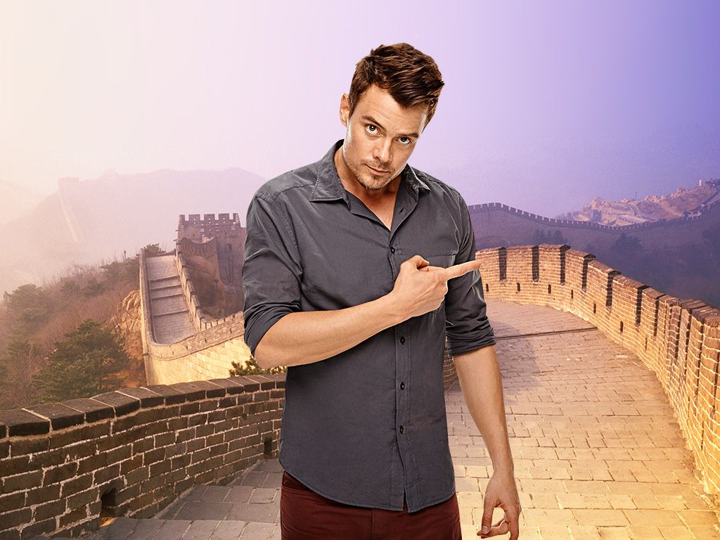 In the East|Just hangin' out on the Great Wall of China, no big deal.