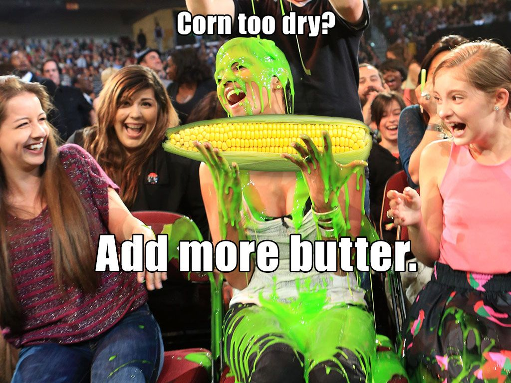 Slime on the Cob|Would you like more corn on your slime?