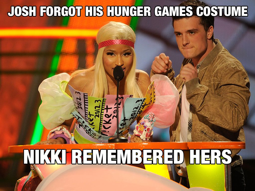 Dress Up|Nikki Minaj's dress was the 'ticket' to a bold statement on the KCA stage.