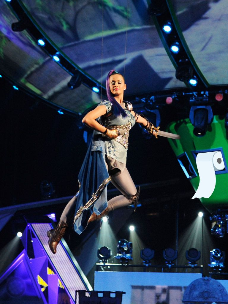 Good Points|Was Katy Perry exploring new heights at last year's KCAs, or was she just trying to secretly prepare us for the slime fest that was to come?