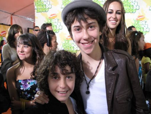 Alex & Nat Wolff|The Naked Brothers Band's real-life bros rock the Carpet.