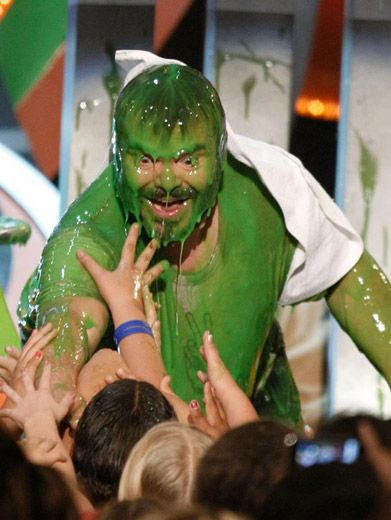 Jack Black's Green Magic|Everyone wants a piece (or a glop) of the Kung Fu Panda.