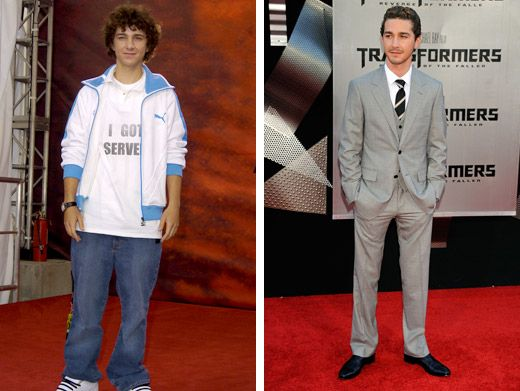Shia LaBeouf|Holy Shia! Our boy sure has transformed over the years. What a handsome devil he turned out to be.