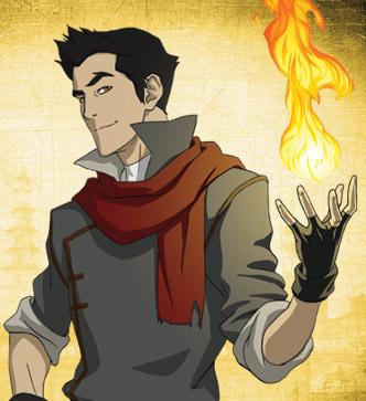 Mako / Firebender Picture - Legend of Korra