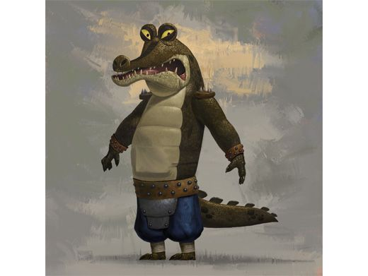 Crooked Croc|Whether you spell his name Gary or Gahri, this crooked croc is a true masterpiece.