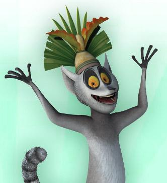King Julien Picture - The Penguins of Madagascar