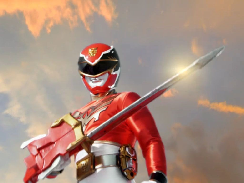 RED RANGER|Troy Burrows is ready for battle!