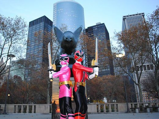 Raise Your Swords|The Rangers stand guard in New York Citys Battery Park.