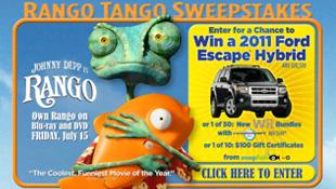 Rango Tango Sweepstakes