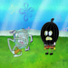 TangleFish|Squidward strikes out when all of his punches rubberband back at his head.