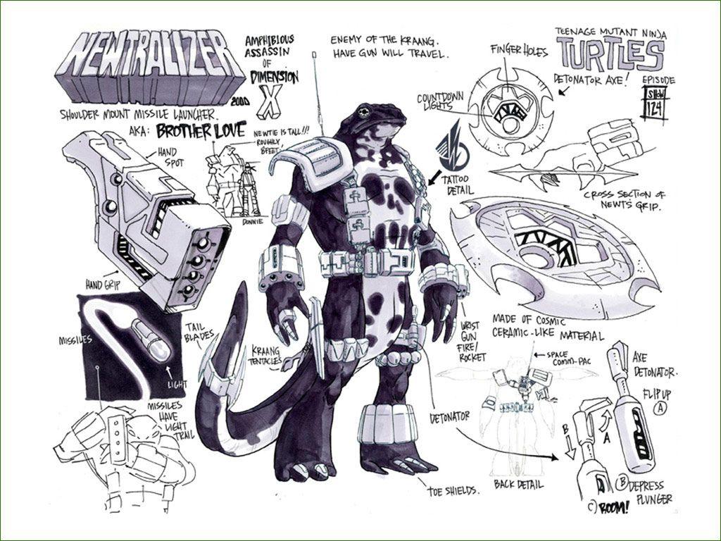 tiger ninja turtles coloring pages - photo#4