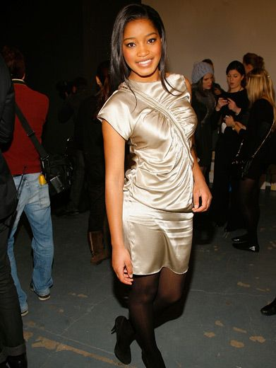 Keke Keepin' it Edgy|About this hot Fashion Week get-up, Keke says: