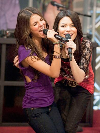 The Mash Up|What do you get when you take Victoria Justice and Miranda Cosgrove on one set? One AWESOME mash up!