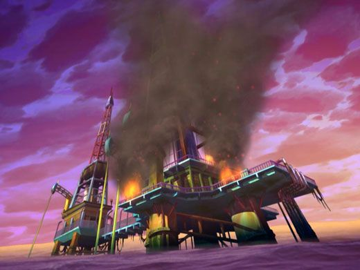 Dark Disaster!|The rig is busted and oil is spilling into the ocean! Will the Winx Club be able to save the trapped workers and stop the leak?