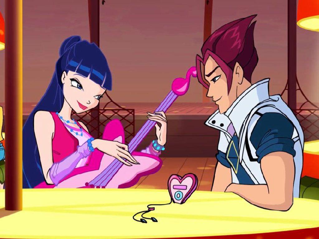 Winx Club Musa And Riven