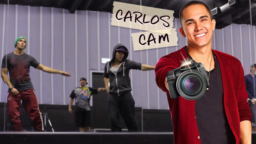 Carlos Cam: Learn to Dance BTR Style!