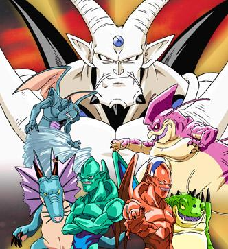 Shadow Dragons Picture - Dragon Ball GT