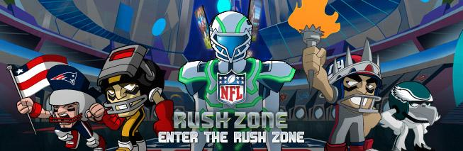 ENTER THE RUSH ZONE